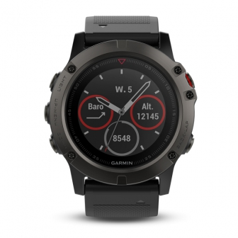 Garmin Fenix 5X (นาฬิกาอัจฉริยะแบบ Multisport แบตฯ นาน 12 วัน แต่ฟังก์ชั่นเสริมของ นักวิ่ง นักปั่น เพียบ)