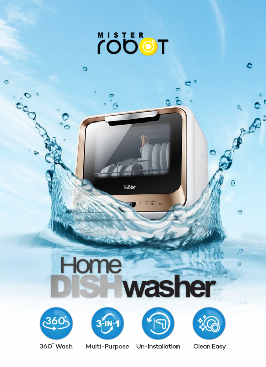 Mister Robot Home Dishwasher