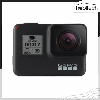 GoPro HERO7 (แอคชั่นแคม ถ่ายวีดีโอ 4K ระบบกันสั่น HyperSmooth ถ่ายภาพนิ่ง 12 ล้านพิกเซล)