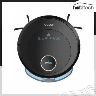 iGGOO WISE (หุ่นยนต์ดูดฝุ่นอัตโนมัติ สั่งงานผ่านสมาร์ทโฟน)