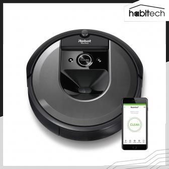 iRobot Roomba i7 (หุ่นยนต์ดูดฝุ่น เชื่อมต่อสมาร์ทโฟน มีระบบทำแผนที่ แรงดูด 10 เท่า)