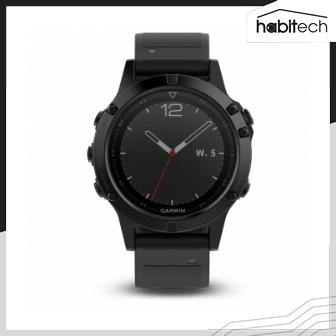Garmin Fenix 5 (นาฬิกาอัจฉริยะแบบ Multisport สำหรับนักกีฬา และนักผจญภัย แบตฯ อึดนาน 2 อาทิตย์)