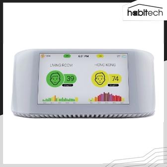 IQAir AirVisual Pro (เครื่องตรวจวัดคุณภาพอากาศในห้อง หรือนอกอาคาร พร้อมแสดงค่าอากาศจากภายนอก)