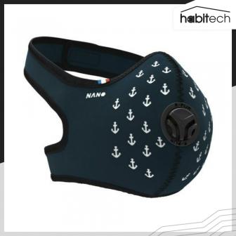 R-PUR Anti-Pollution Face Mask (หน้ากากกรองฝุ่นละออง กรองก๊าซพิษ เกรดพรีเมี่ยม แผ่นกรองอากาศ 5 ชั้น จากฝรั่งเศส)