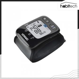 OMRON HEM-6232T (เครื่องวัดความดันโลหิตดิจิตอล แบบสวมข้อมือ พกพา เชื่อมต่อ App เก็บสถิติบนสมาร์ทโฟนได้)