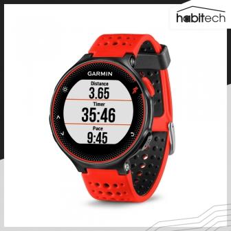 Garmin Forerunner 235 (นาฬิกา GPS สำหรับการวิ่งพร้อมการวัดอัตราการเต้นหัวใจที่ข้อมือ)