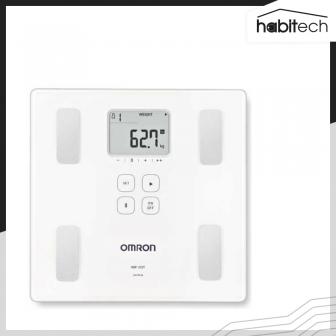 OMRON HBF-222T (เครื่องชั่งน้ำหนักดิจิตอล เครื่องวัดองค์ประกอบในร่างกาย เชื่อมต่อ App เก็บสถิติบนสมาร์ทโฟนได้)