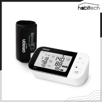 OMRON HEM-7361T (เครื่องวัดความดันโลหิตดิจิตอล แบบสอดแขน พกพา สำหรับผู้ใช้งาน 2 คน เชื่อมต่อ App เก็บสถิติบนสมาร์ทโฟนได้)