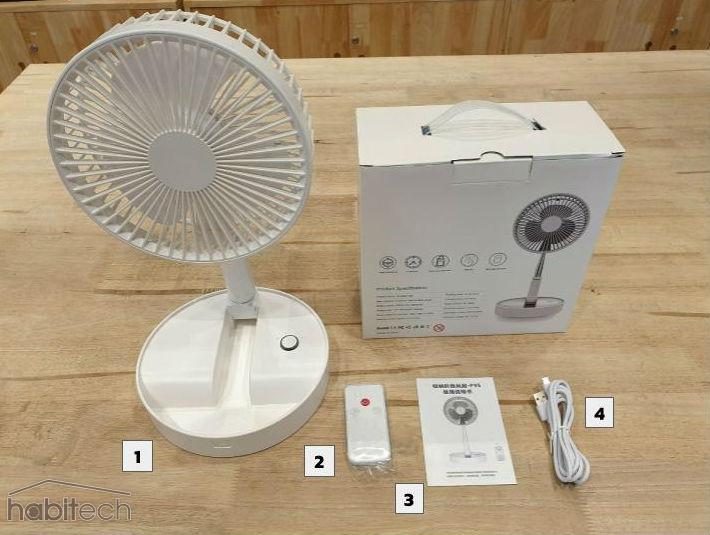 Foldable Fan P9s