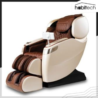 Rester CEO EC-628K (เก้าอี้นวดไฟฟ้าตัวท็อป ระบบนวด 4 มิติ พร้อมจอ Touchscreen 7 นิ้ว ลำโพง Bluetooth และไฟสร้างบรรยากาศ)