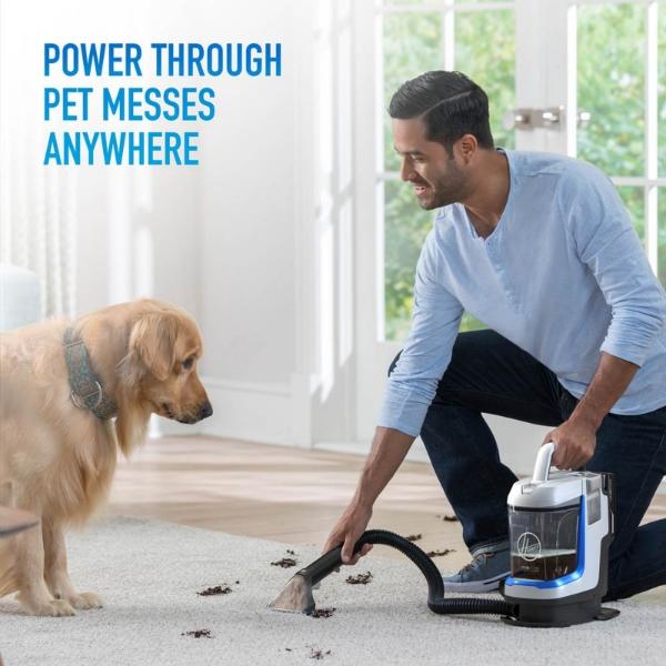 Hoover One PWR Spotless Go Cordless Portable Carpet Spot Cleaner - KIT