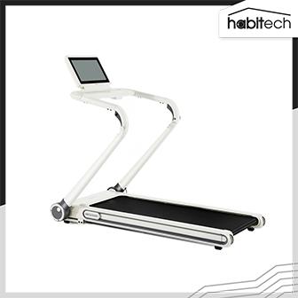 Pando Treadmill P20 White (ลู่วิ่งไฟฟ้าพับเก็บได้ ใช้สายพานพิเศษ ลดการสั่นสะเทือน วิ่งได้เร็วสุด 15 km/h)