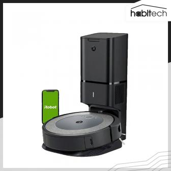 iRobot Roomba i3+ (หุ่นยนต์ดูดฝุ่น ทำความสะอาดตัวเองได้ เชื่อมต่อสมาร์ทโฟน)