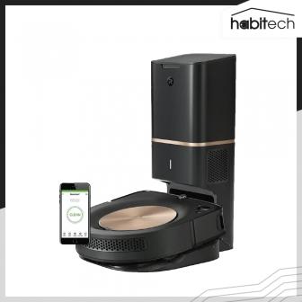 iRobot Roomba s9+ (หุ่นยนต์ดูดฝุ่น ตัวเครื่องสีทองหรูหรา ทำความสะอาดตัวเองได้ แรงดูด 40 เท่า)