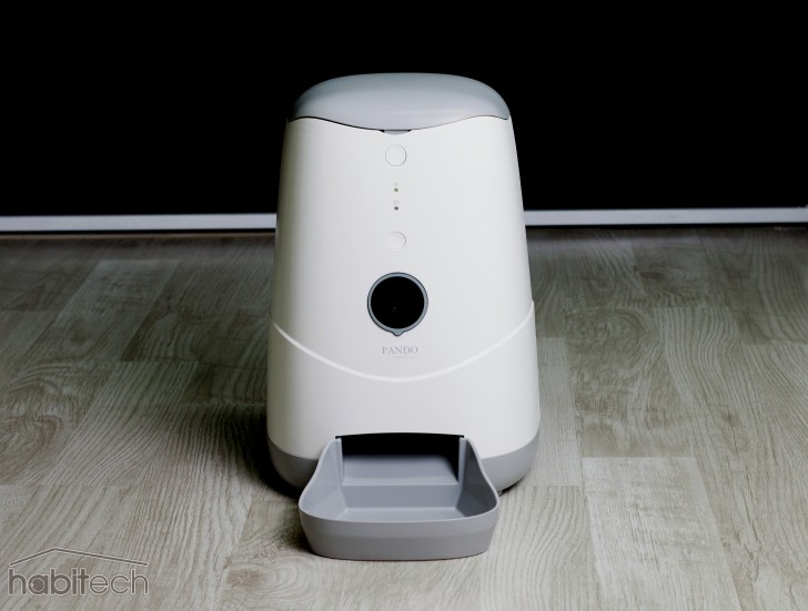 เครื่องให้อาหารสัตว์เลี้ยงอัจฉริยะ หมา แมว Pando Pet Video Audio Cats Dogs Smart Feeder