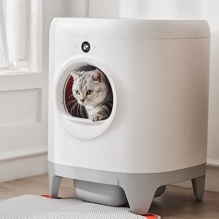ห้องน้ำแมวอัจฉริยะ PETKIT Pura X AUTO Cat Litter Box