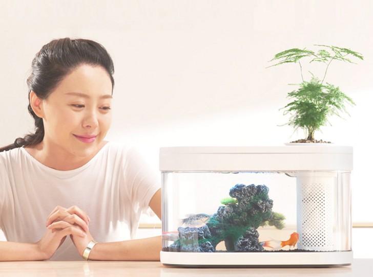 ตู้ปลาอัจฉริยะ Xiaomi HFJH Geometry Fish Tank