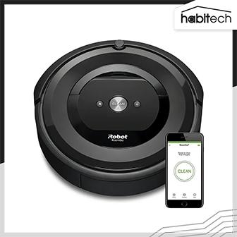 iRobot Roomba e5 (หุ่นยนต์ดูดฝุ่น แรงดูดทรงพลัง กลับแท่นชาร์จอัตโนมัติ ใช้งานผ่านแอปฯ สั่งงานด้วยเสียงได้)