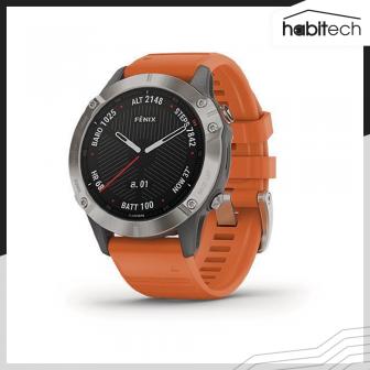 Garmin Fenix 6 (นาฬิกาอัจฉริยะ Multisport สำหรับออกกำลังกาย และการใช้ชีวิตกลางแจ้ง หน้าปัด 47 มม.)