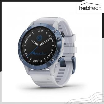 Garmin Fenix 6 Pro (นาฬิกาอัจฉริยะ Multisport สำหรับออกกำลังกาย และการใช้ชีวิตกลางแจ้ง หน้าปัดโซล่าเซลล์)