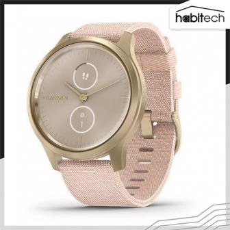 Garmin vívomove Style (นาฬิกาอัจฉริยะระบบ Hybrid มี GPS ติดตามสุขภาพ การออกกำลังกาย เชื่อมต่อแอปฯ ได้ หน้าจอ 42 มม.)