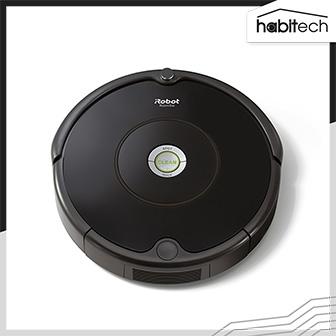 iRobot Roomba 606 (หุ่นยนต์ดูดฝุ่น แรงดูดทรงพลัง เซนเซอร์อัจฉริยะ มีระบบทำความสะอาด 3 ขั้นตอน กลับแท่นชาร์จอัตโนมัติ)